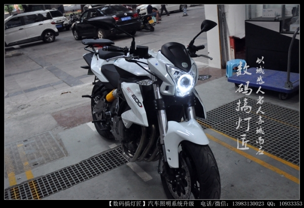 黄龙600升级GTR双光透镜