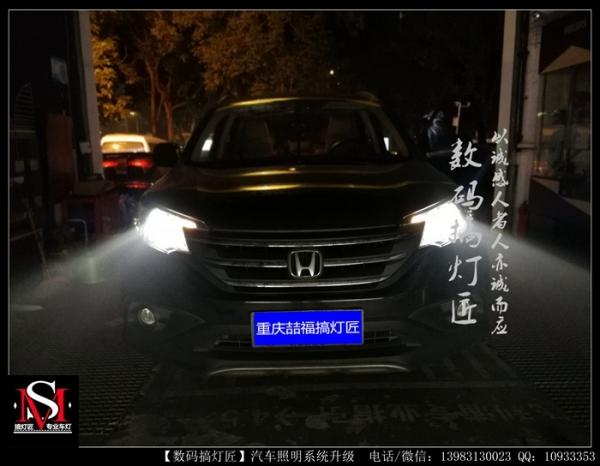 本田CRV升级GTR镀膜款双光透镜