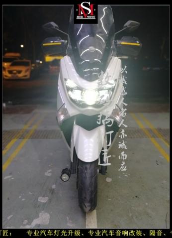 摩托车升级GTR镀膜款双光透镜